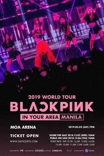 LOOKING FOR: Blackpink in Manila Concert Ticket