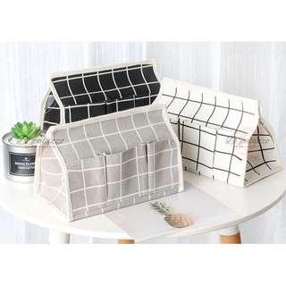 Remote Control Storage Box Tissue Container Home Deco