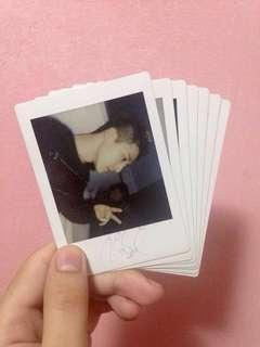 iKON Official Signed Polaroids