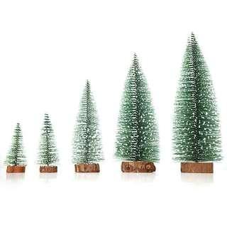 Christmas Pine Tree Desktop Ornament Home Decoration Gift