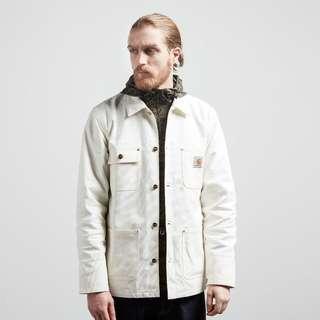 Carhartt Wip michigan chore coat 白色款