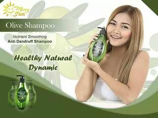 Merry Sun Olive Shampoo and Conditioner