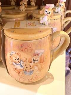 Cookie造型陶瓷杯連蓋