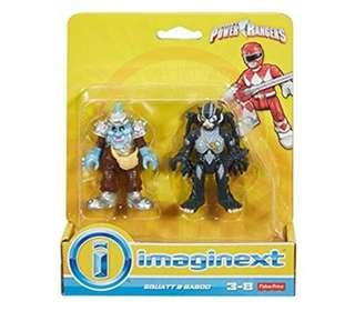 (Pre-Order) Fisher-Price Imaginext Power Rangers Squat & Baboo