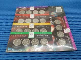 2000 Singapore The Official Millennium Medal Collection ( Lot of 20 Pieces )