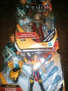 King Odin & Thor 3.75