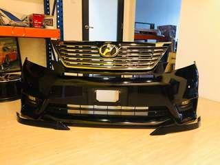 Toyota Vellfire Z Complete Front Bumper