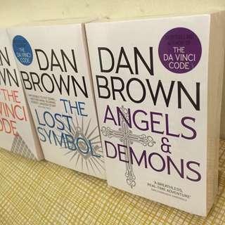 BRAND NEW - Dan Brown books