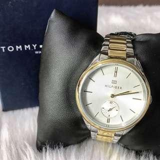 Tommy Hilfiger Women's Two Tone Stainless Steel Watch
