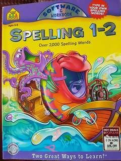Spelling 1-2- Software & Workbook