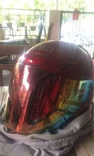 Shoei J-Force 3 Maroon Original