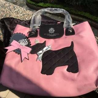 🚚 🔱包包大特價💥粉嫩嫩 磁扣狗狗🐩 造型手提包