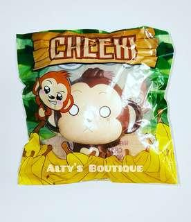 Jumbo Cheeki Monkey Squishy
