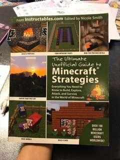 The Ultimate unofficial guide to minecraft strategies 遊戲書 攻略書