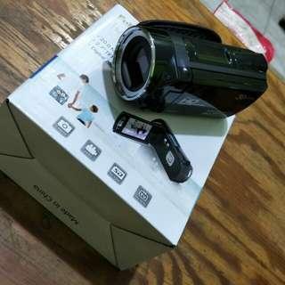 Handycam menggunakan batere