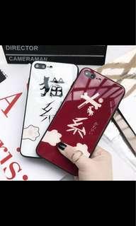 Iphone xs case 加 mon貼