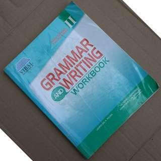Grammar and Writing Workbook VIBAL Grade 8 English book