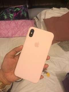 Iphone xs Max silicon case