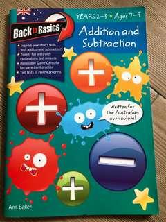 Maths book for ages 7-9