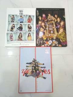 twice yes or yes unsealed album photocards instock