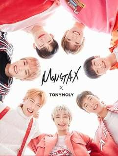 Monsta X Tony Moly lip tint