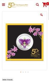 Singapore Mint 50th Anniversary Medallion