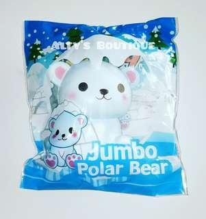 Puni Maru Jumbo Polar Bear Squishy