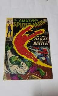 AMAZING SPIDER-MAN (VOL 1) 77 vs Human Torch & Lizard