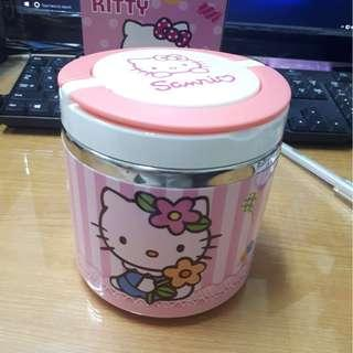 New hello kitty stainless insulated lunch container