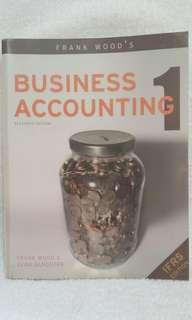 Frank Wood's Business  Accounting 1 (11th edition )