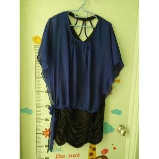PRE-X'MAS SALES 12 : Dark Purple Dress