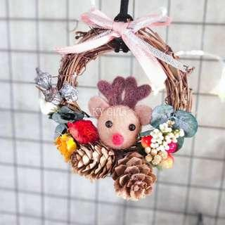 Christmas Dried Flower Deco 🎄 Hanger