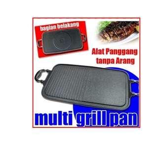 Multi Grill Pan - Alat Bakar Daging BBQ Sayur