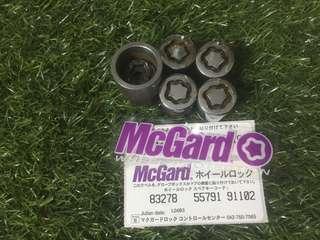 Mcgard lock nuts