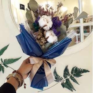 Dried Flower Bouquet Buket Bunga Kering