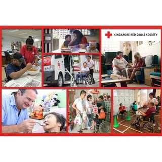 [Enjoy 2.5x Tax Deduction!] Be A Singapore Red Cross Champion