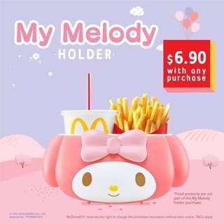 my melody mcdonals