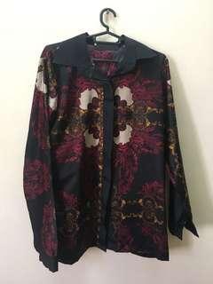 Versace dupe blouse