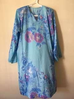 Japanese cotton baju kurung
