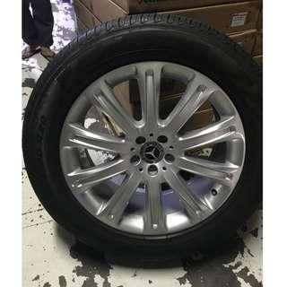 "Mercedes GLE/GLC Rim & Tyre 20"""