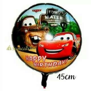 18 inch CARS foil balloon