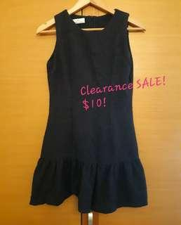🚚 Excellent Condition! Pleated Tail Sleeveless Dress