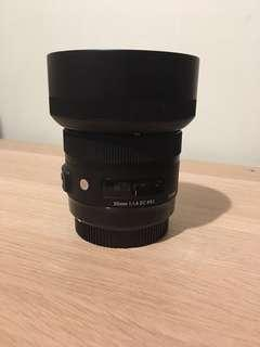🚚 sigma 30mm ART f1.4 dc hsm for canon