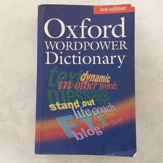 Oxford wordpower dictionary!