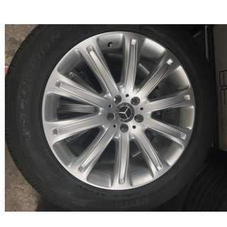 Mercedes GLE/GLC Rim & Tyre