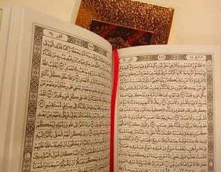 Al-Quran Kalamul Ali Cover Emas dan Perak Non Terjemah