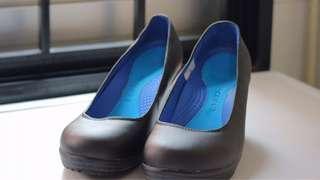Crocs wedge shoes w6