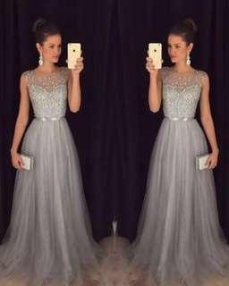 Wedding Dress 婚紗 晚裝 外影拍攝 姊姊裙 lace 長裙