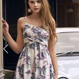 TCL Gisella Pleated Dress