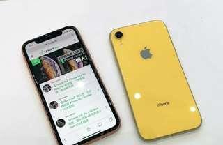 🚚 Apple Iphone XR 黃 64G 17990元